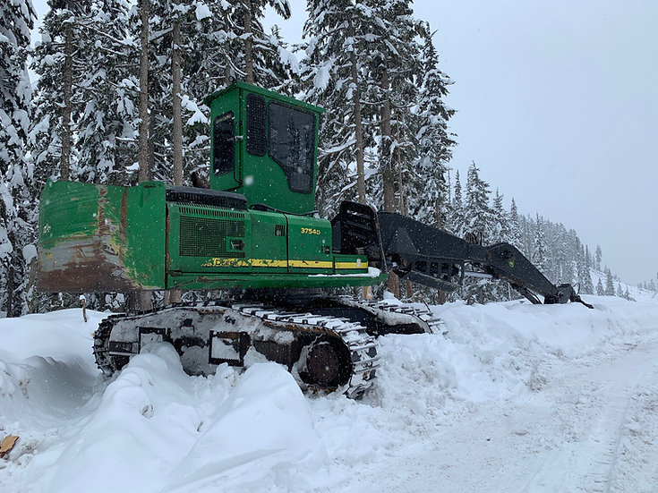 2012 John Deere 3754D Log Loader