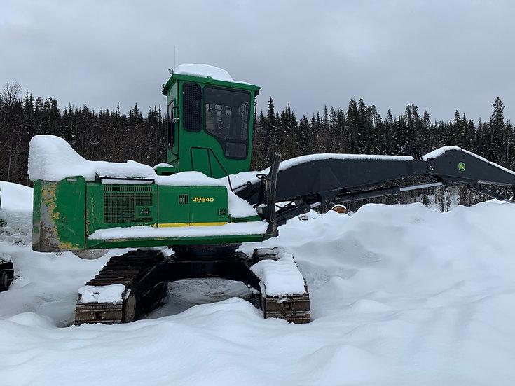 2013 John Deere 2954D Log Loader