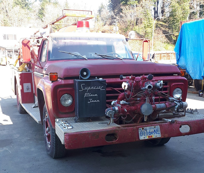 1978 Ford F600 Fire Truck