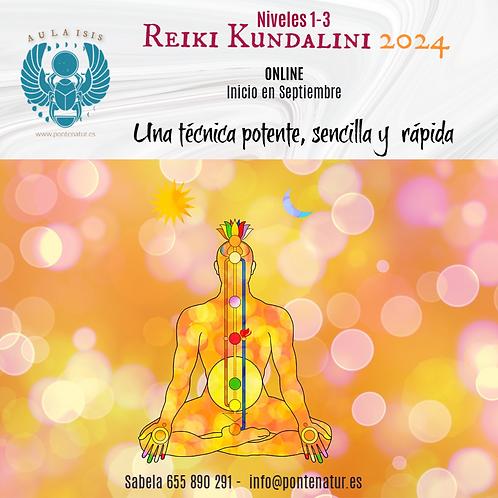 Reiki Kundalini 2024 Nivel 1 y 2