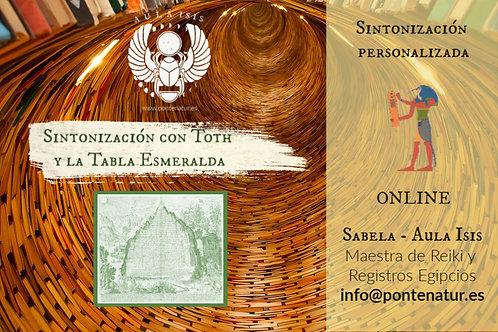 Sintonización Toth y las tablas esmeralda