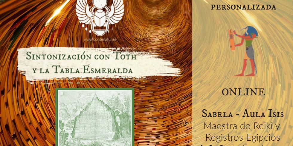 Sintonización Toth y tabla esmeralda