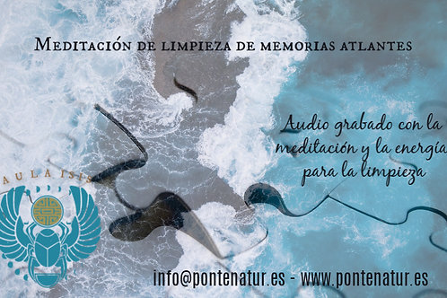 Limpieza memorias atlantes