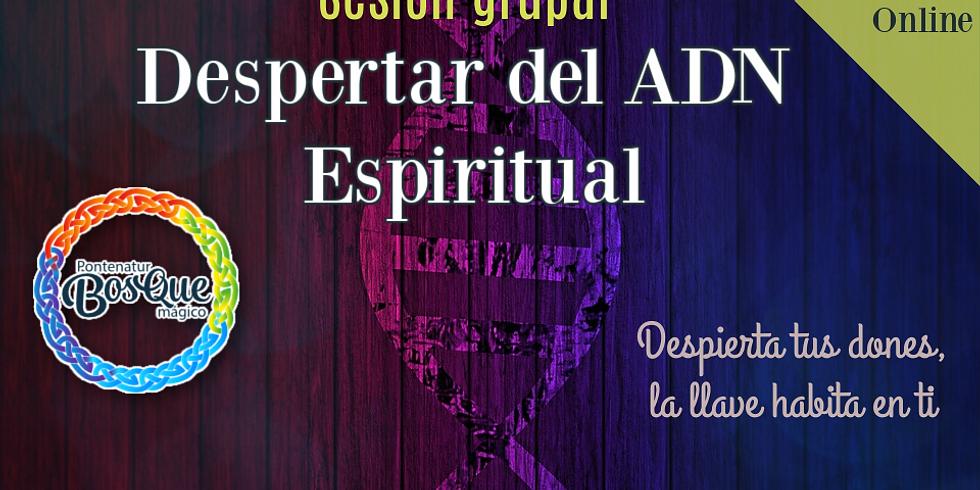 Sesión Grupal: Despertar ADN Espiritual