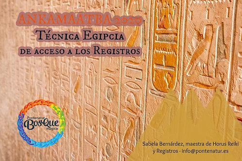 Registros Egipcios (conexión jardín akáshico y registros de Merlín)