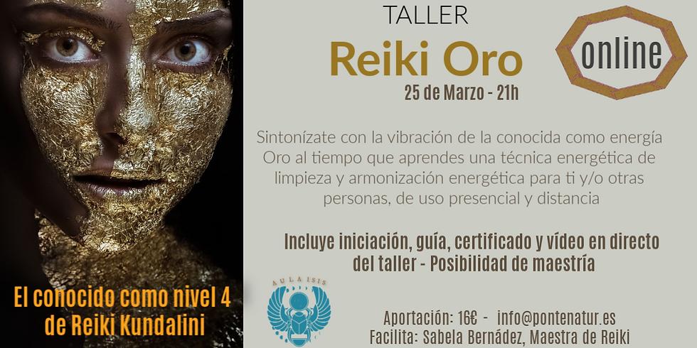 Reiki Oro (taller)