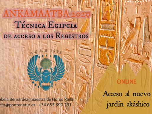 Iniciación Registros Akáshicos Egipcios ANKAMAATBA 2020©