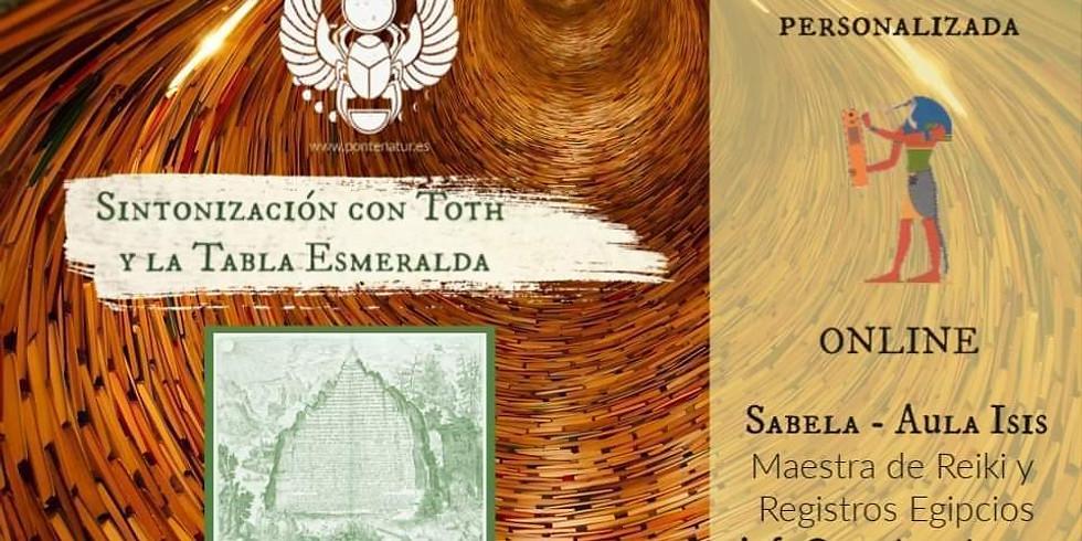 Sintonización Toth y la tabla esmeralda
