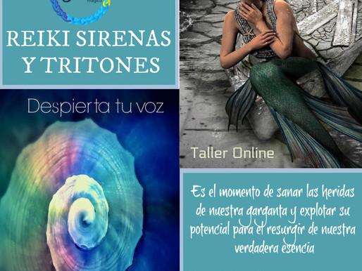 Reiki Sirenas y Tritones