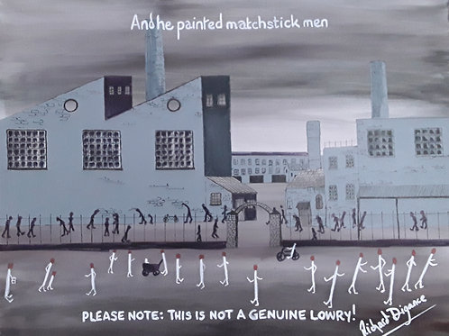 And He Painted Matchstick Men