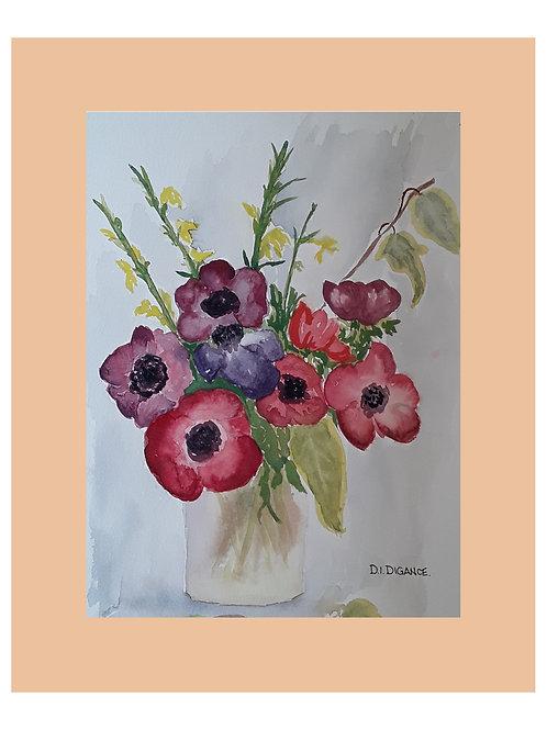 Vase Of Pink by Doris Digance