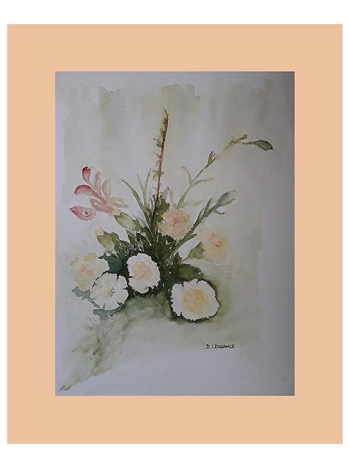 White Arrangement by Doris Digance