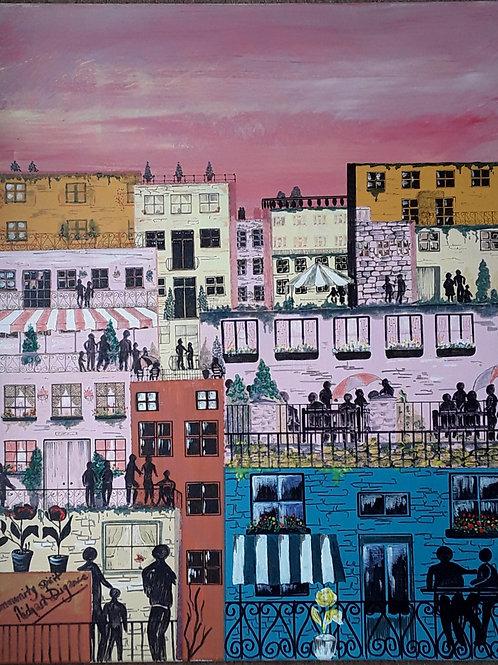 Community Spirit by Richard Digance
