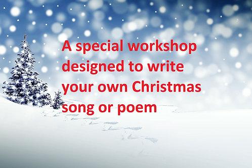 11/12 December 2021 Songwriting Workshop
