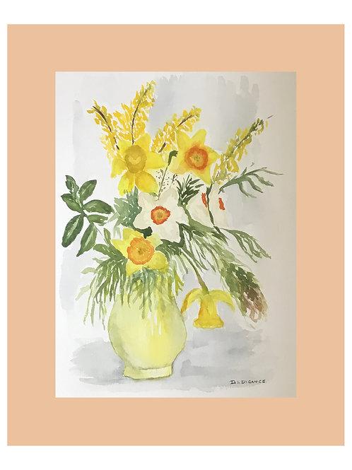Yellow Jug by Doris Digance