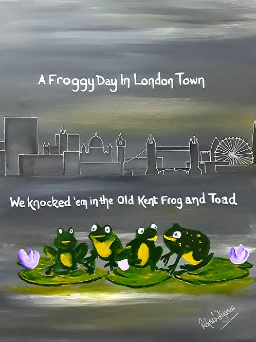 FROGGY DAY IN LONDON TOWN