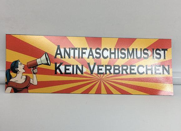 """""""Antifaschismus ist kein Verbrechen"""" 20 Stück"""