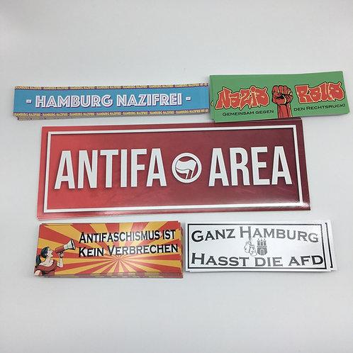 """Anti-Nazi Mix Hamburg"" 170 Sticker"