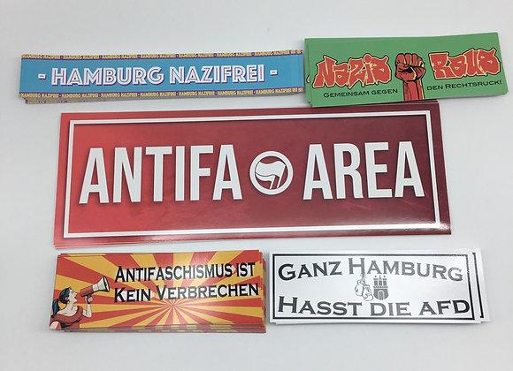 """Anti-Nazi Mix Hamburg"" 170 Stück"
