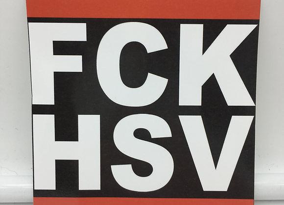 """""""FCK HSV"""" 15 Stück"""