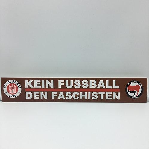 """Kein Fussball den Faschisten"" 10 Stück"