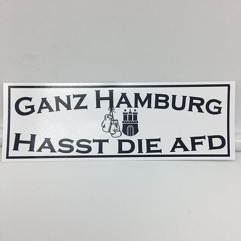 """""""Ganz Hamburg hasst die AfD"""" 20 Stück"""