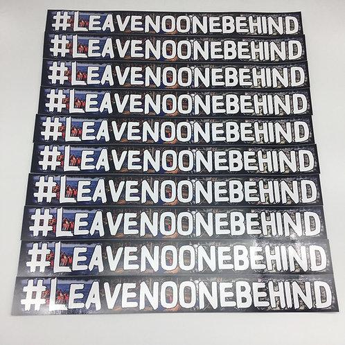 """""""#Leavenoonebehind"""" 15 Stück"""