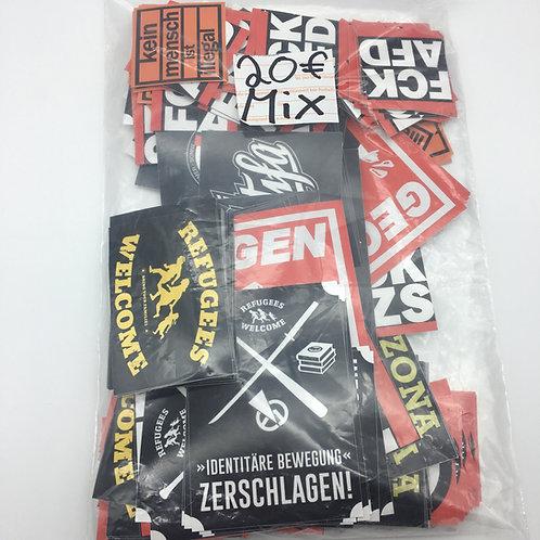 """350 Sticker """"Antifa-Package"""""""