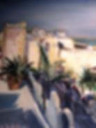 Pompeii Oil on Canvas