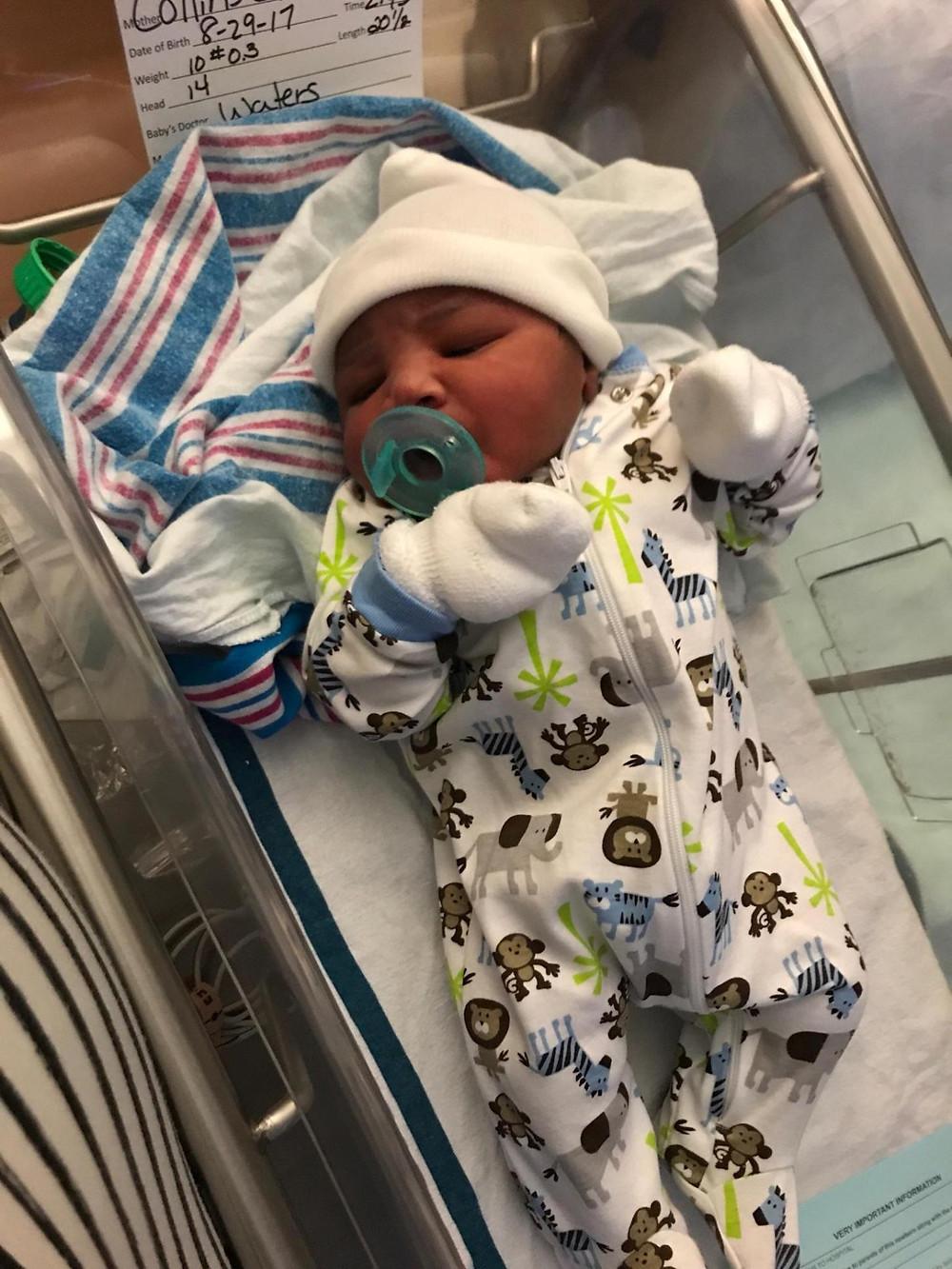 Welcome Baby Nicholas!