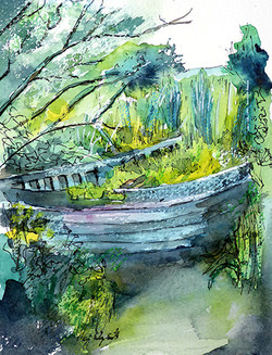 Boat lost on Newport Estuary (Sold)