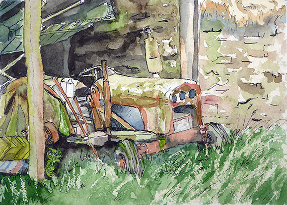 Court Farm Tractor