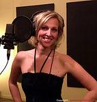 Geneviève Charest en enregistrement