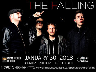 The Falling en spectacle