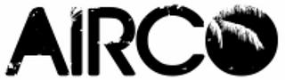 Groupe de rock belge Airco - logo