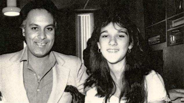 Souvenir de René Angélil avec Céline Dion au studio Multisons