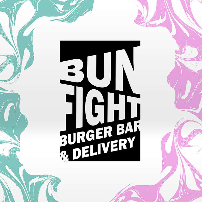 Bun Fight - our core logo design