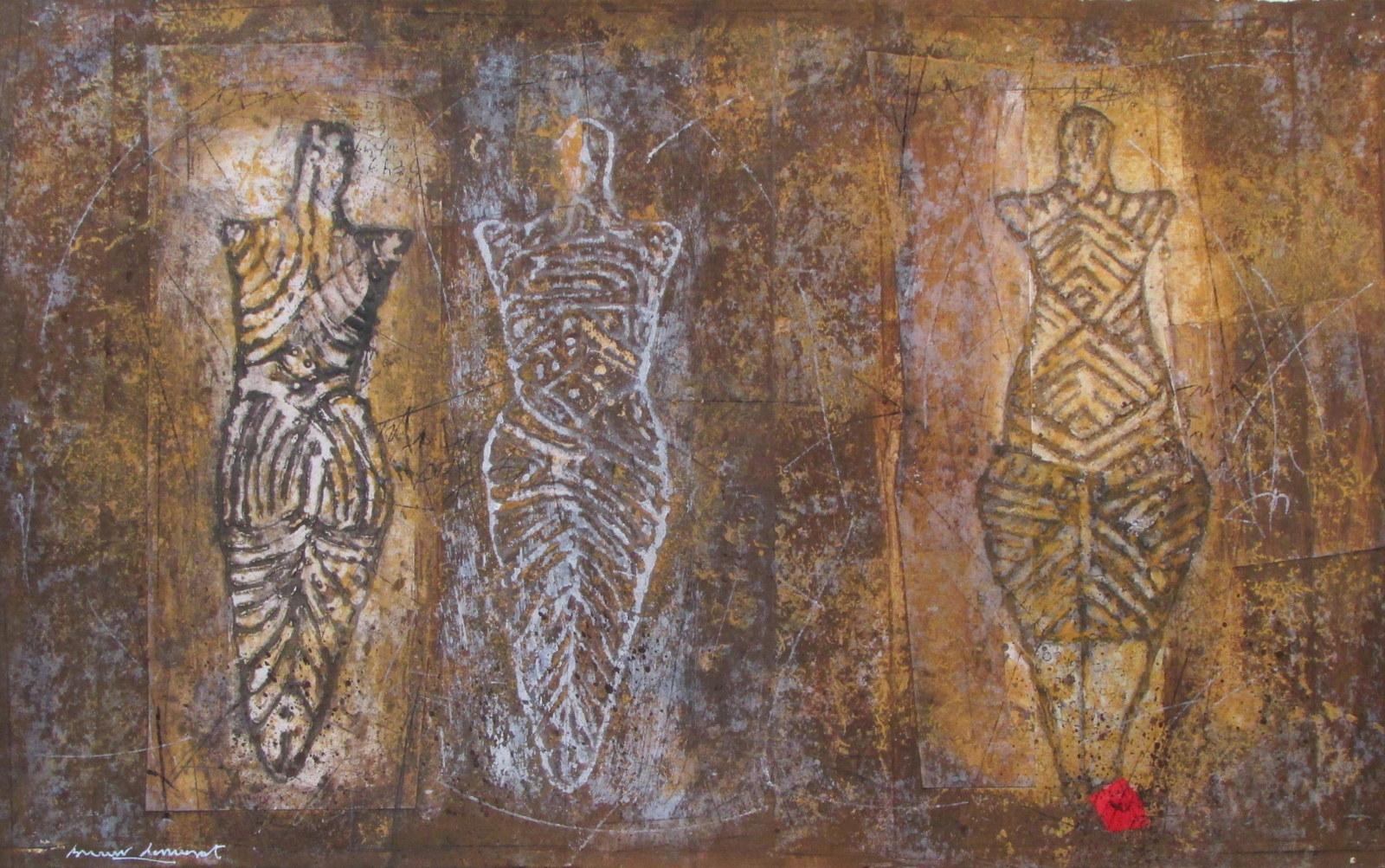 """""""Idoles de Cucuteni n°12"""""""