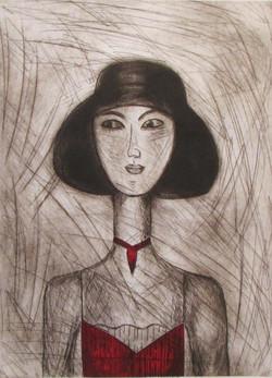 """""""Femme au chapeau"""""""