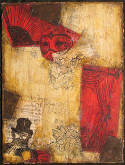 0004 Hommage à Verdi  n° IV(80x60cm)