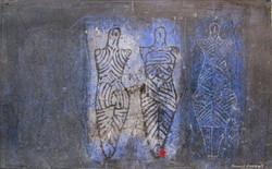 """""""Idoles de Cucuteni n°9"""""""