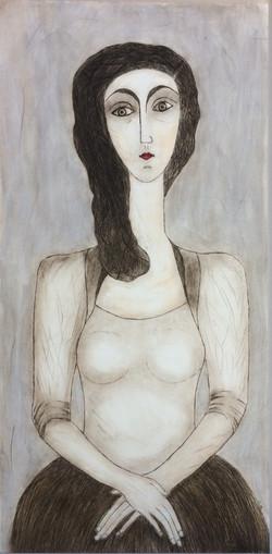 """""""La romantique"""" (102x50cm)"""