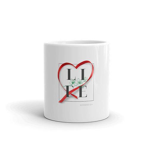 Life (Red) Mug