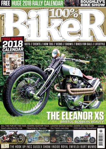 Front Cover 100% Biker