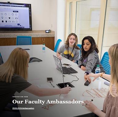 Dr. Chong became 2019-2020 Texas Tech University iHub Faculty Ambassador!