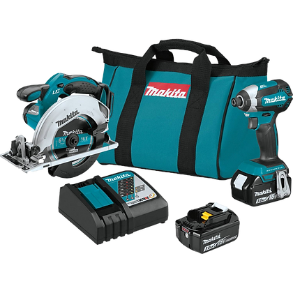 MAKITA 18V LXT 2-PC COMBO KIT