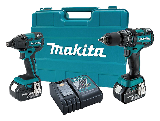 MAKITA 18V LXT LITHIUM-ION BRUSHLESS 2-PC COMBO KIT