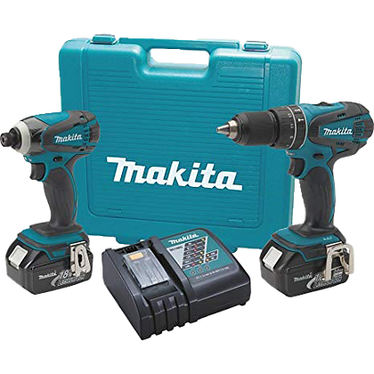 MAKITA 18V LXT LITHIUM-ION CORDLESS 2-PC COMBO KIT