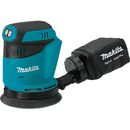 "MAKITA CORDLESS 5"" RANDOM ORBIT SANDER"