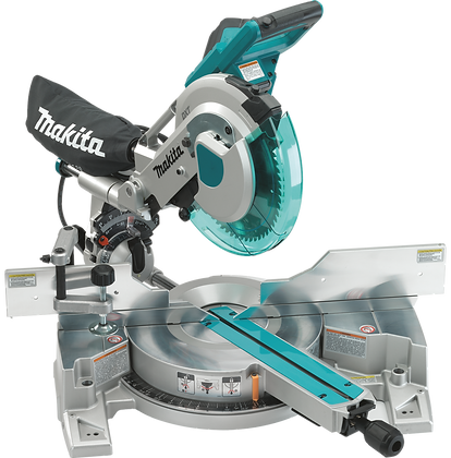 "MAKITA 10"" DUEL SLIDE COMPOUND MITER SAW"